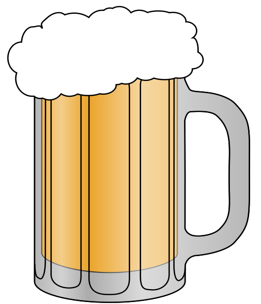 beer clip template free