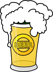 Beer clipart. Animated