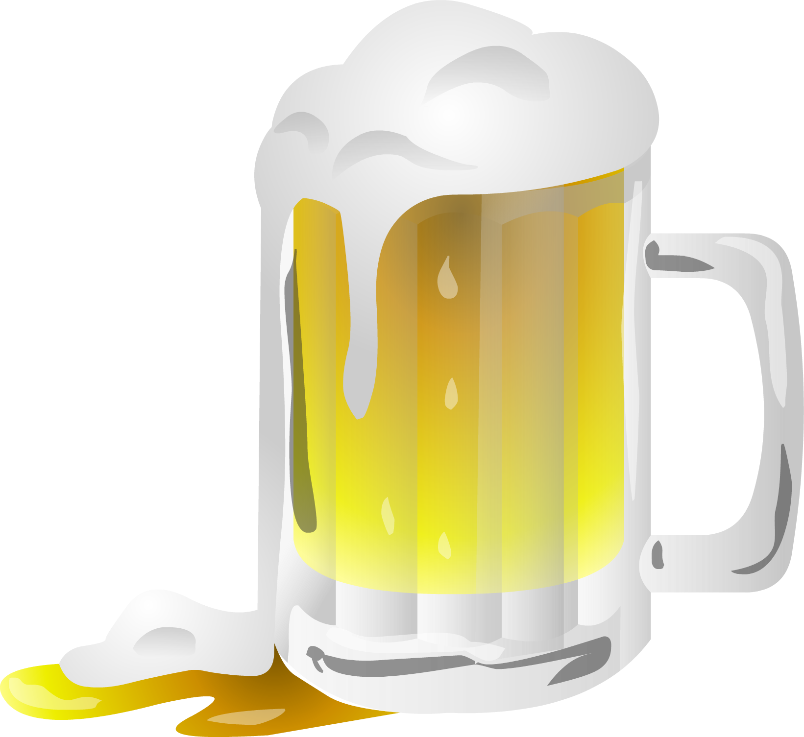 Transparent beer jar. Png images free pictures