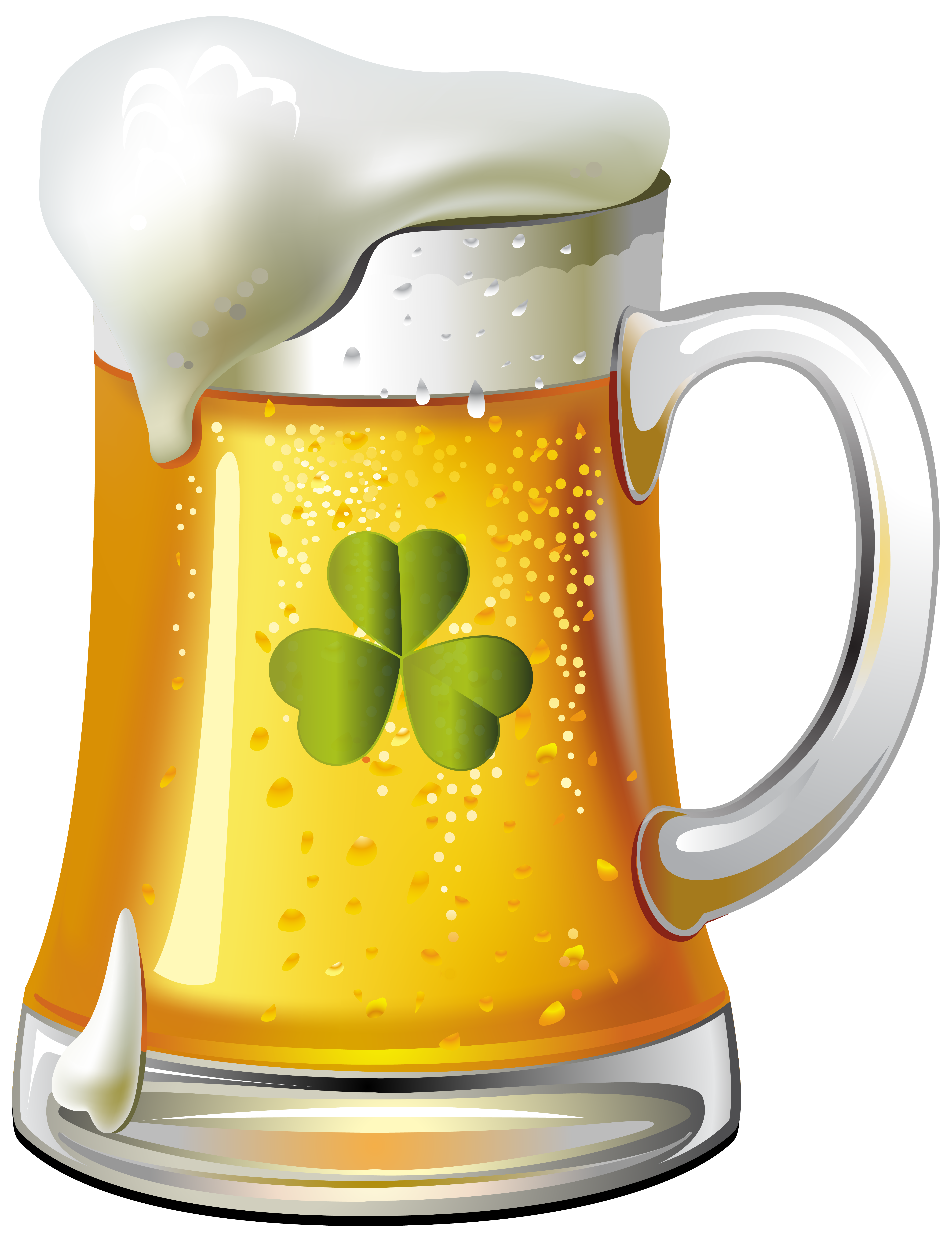 Beer clip pitcher. St patricks day png