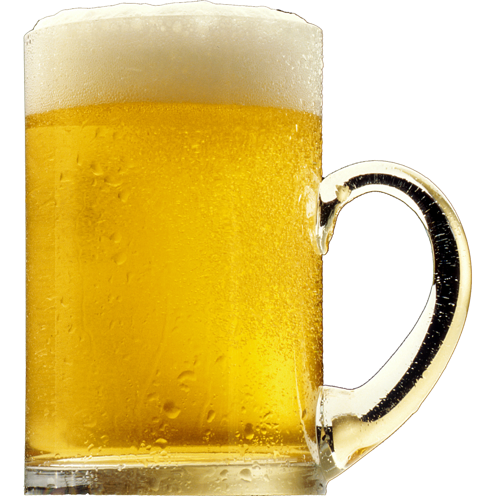 Glass of ten isolated. Transparent beer jug vector transparent library
