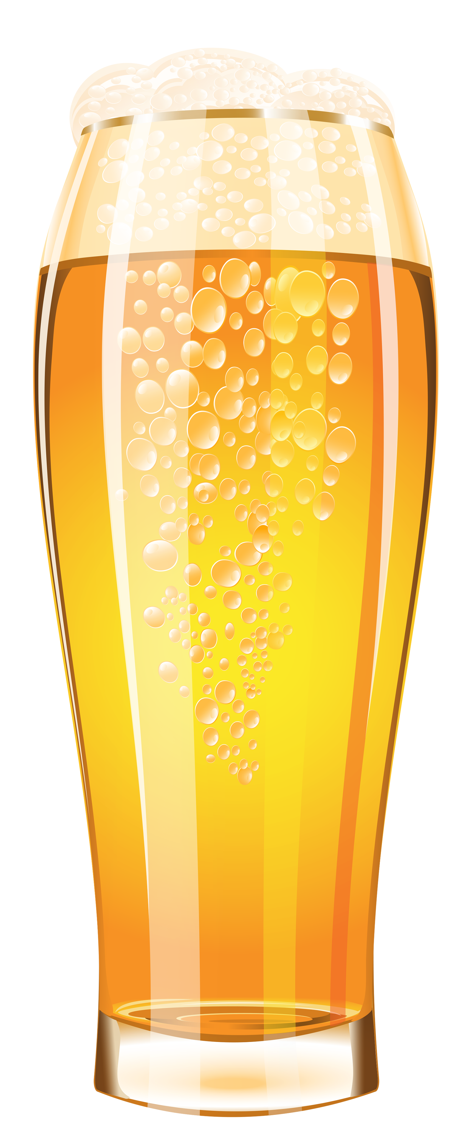 Transparent beer glass vector. Of png clipart image