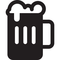 128x128 png logos. Beer icon glyph shop