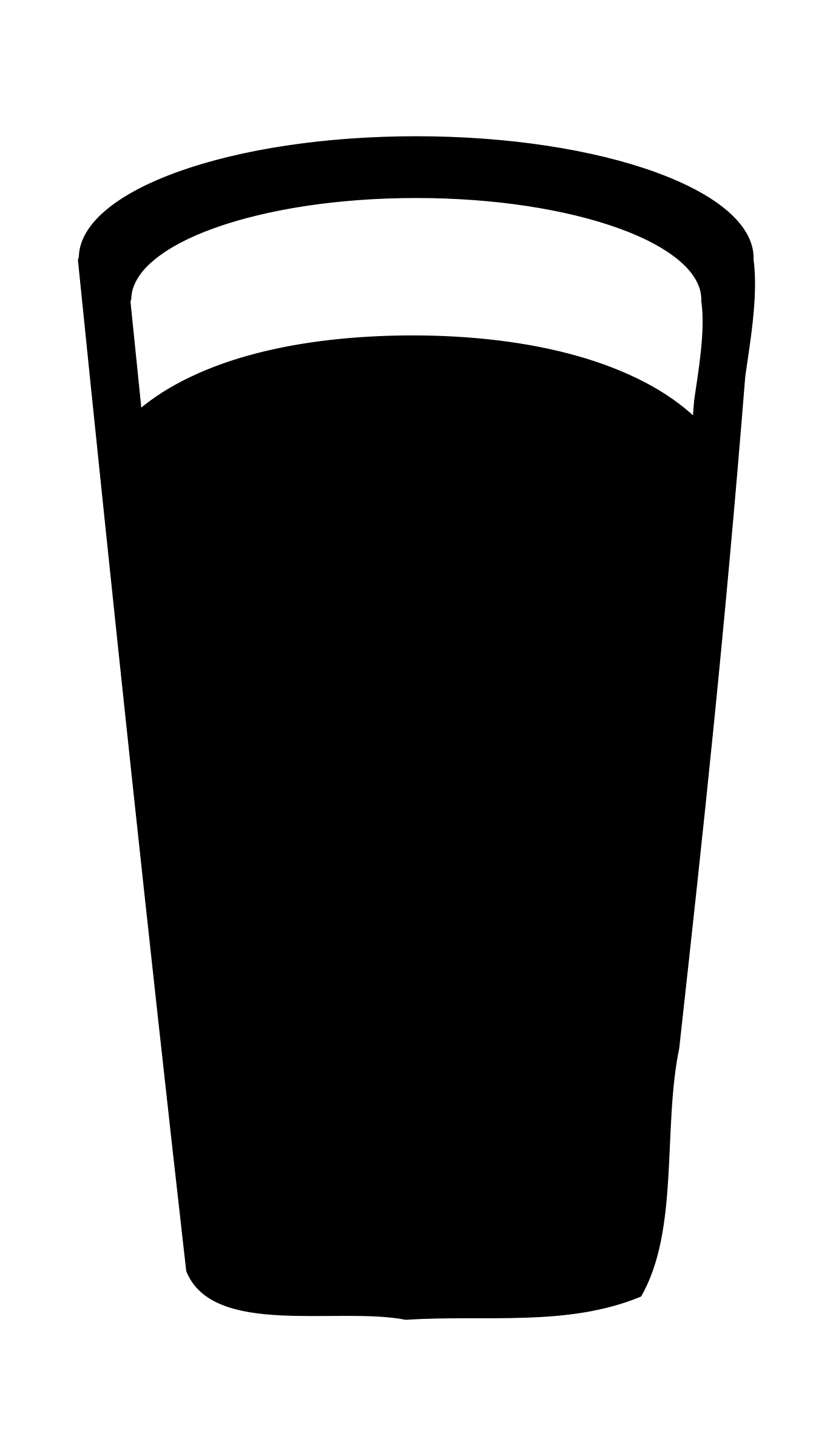 Beer mug silhouette png. Pint glass google search
