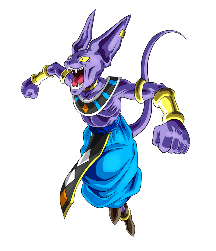 beerus transparent 8 bit