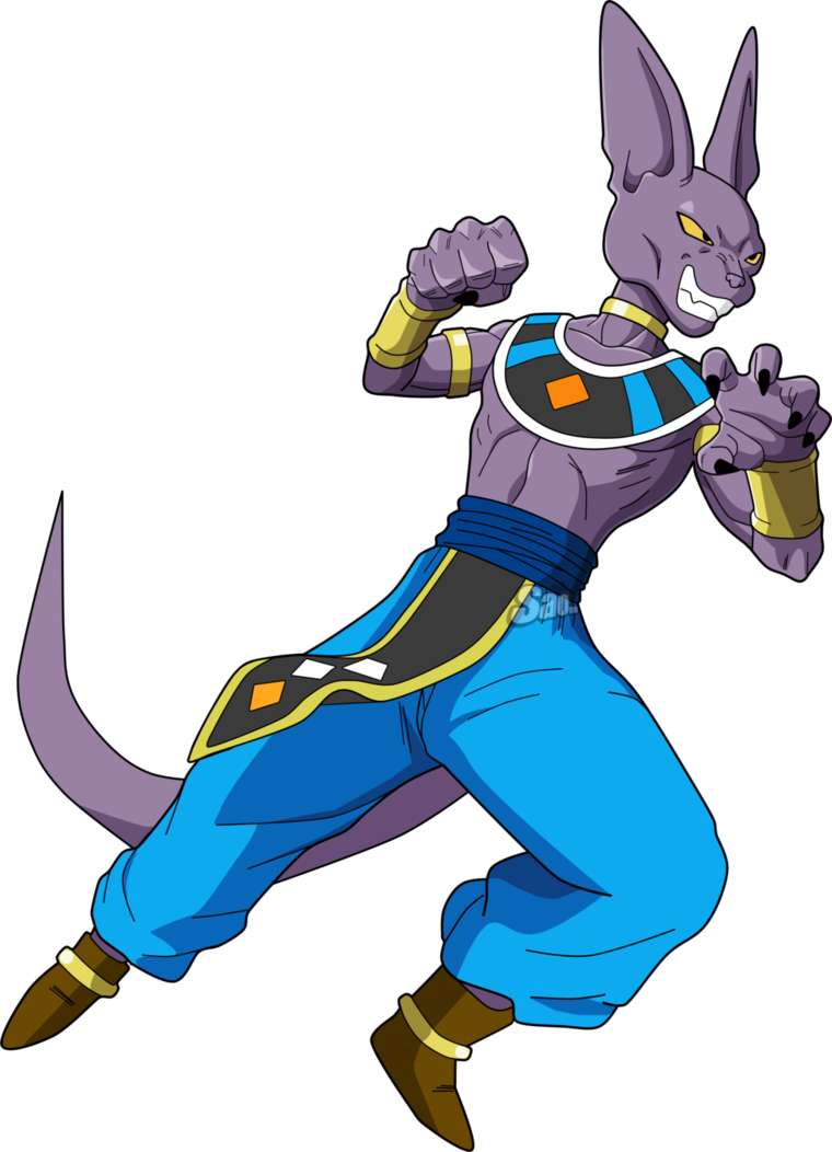 Beerus transparent destroyer. Dbs by saodvd inspire