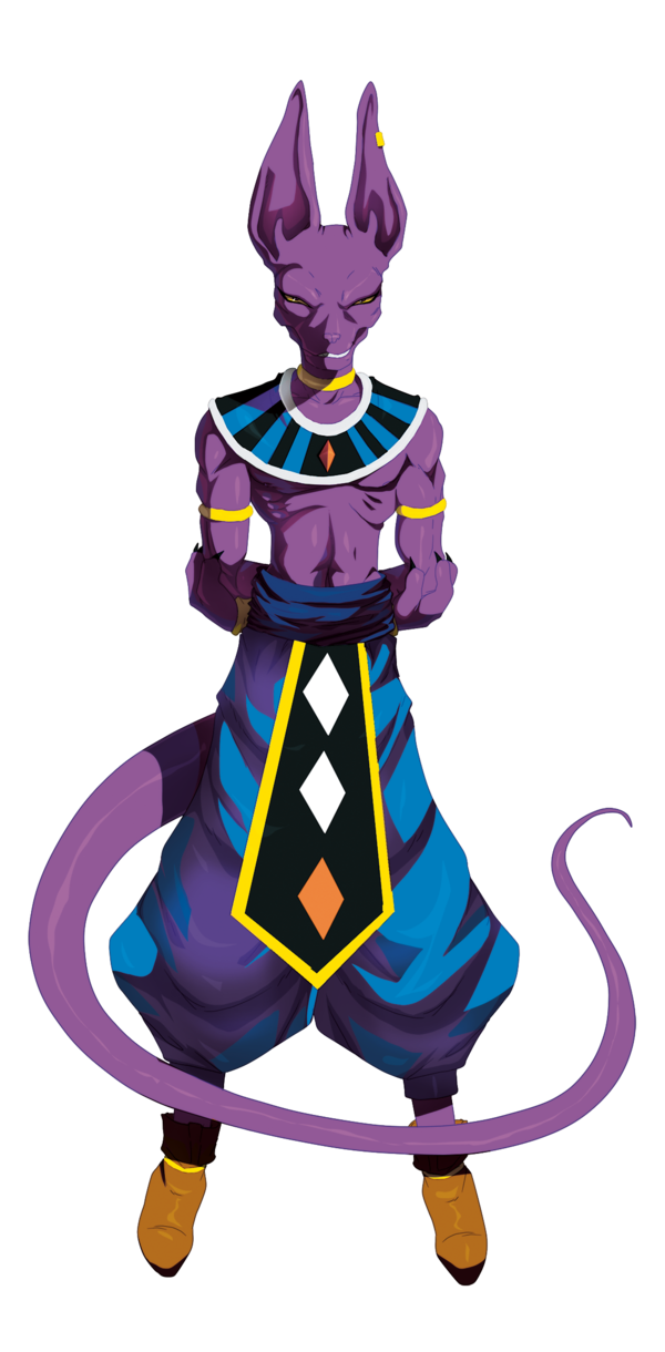 Beerus transparent lord background. I like that name
