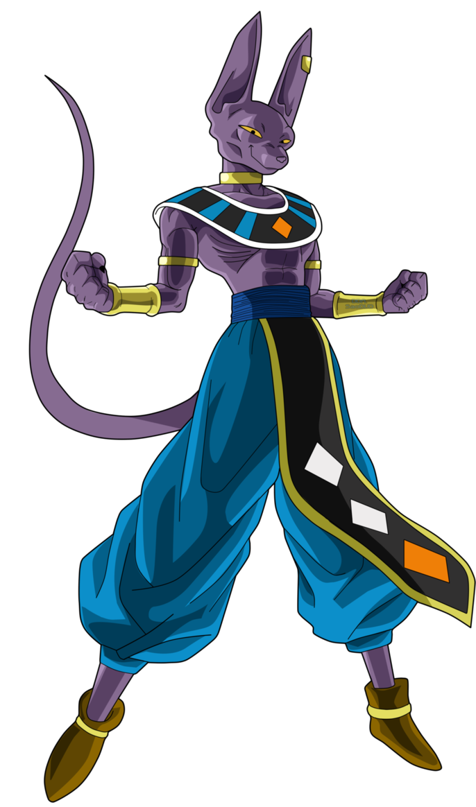 beerus transparent muscular