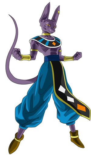 Beerus transparent muscular. New job tf by