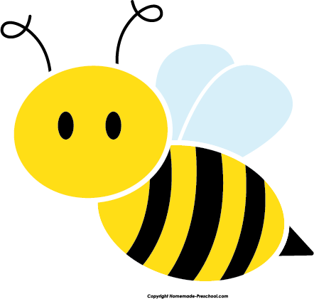 Bees clipart. Free bee click to