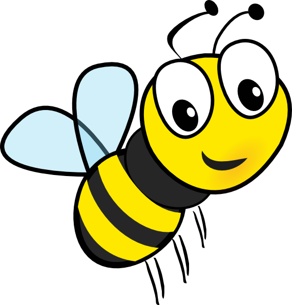 Bees clipart cartoon. Bumble bee colouring for