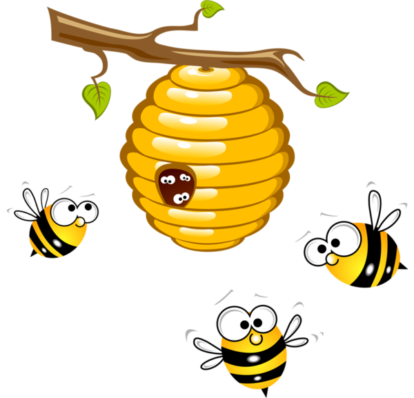 Bees clipart honey bee. At getdrawings com free