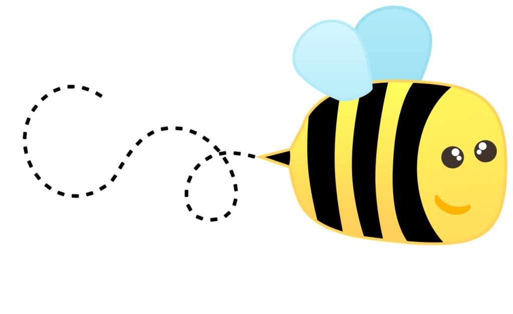 Bees clipart transparent background. Cute bee images