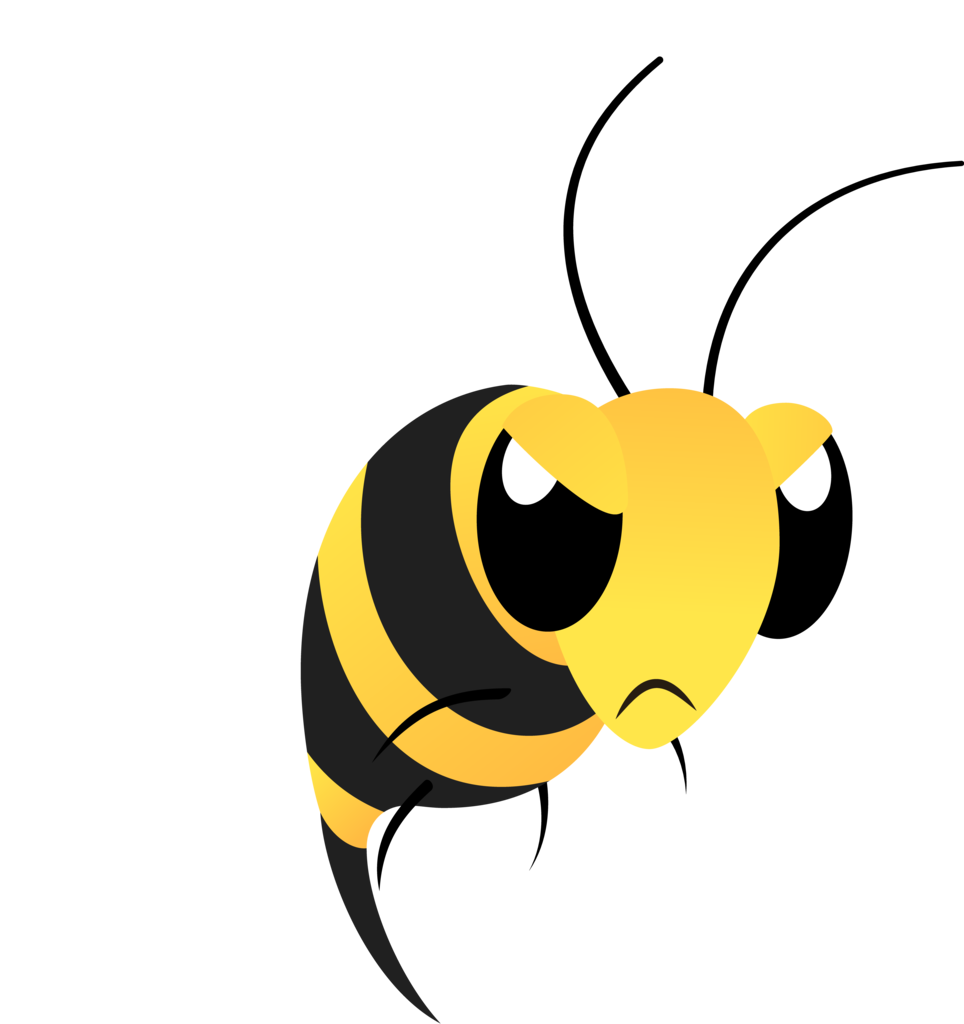 Bees transparent angry. Ai available artist