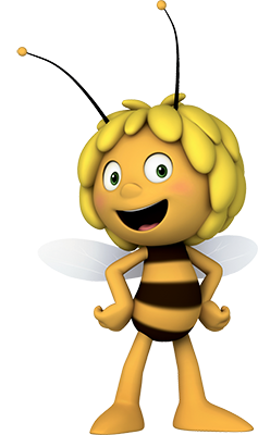 Sprout clip cute. Maya the bee videos