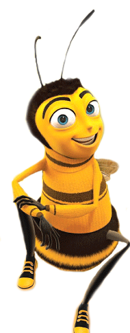 Bees transparent bee movie. The beesby laline by