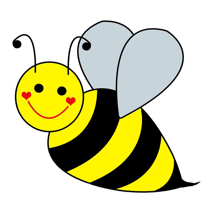 collection of bee. Bees transparent kid graphic royalty free