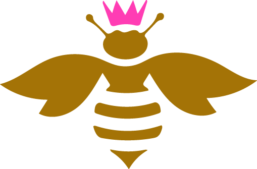 Bees transparent queen. Welcome the bee