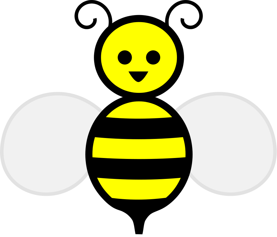 Bees transparent queen. Free bee cliparts download