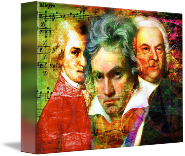 mozart drawing abstract