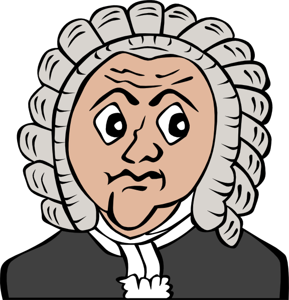 Beethoven drawing clip art. Free cartoon download on