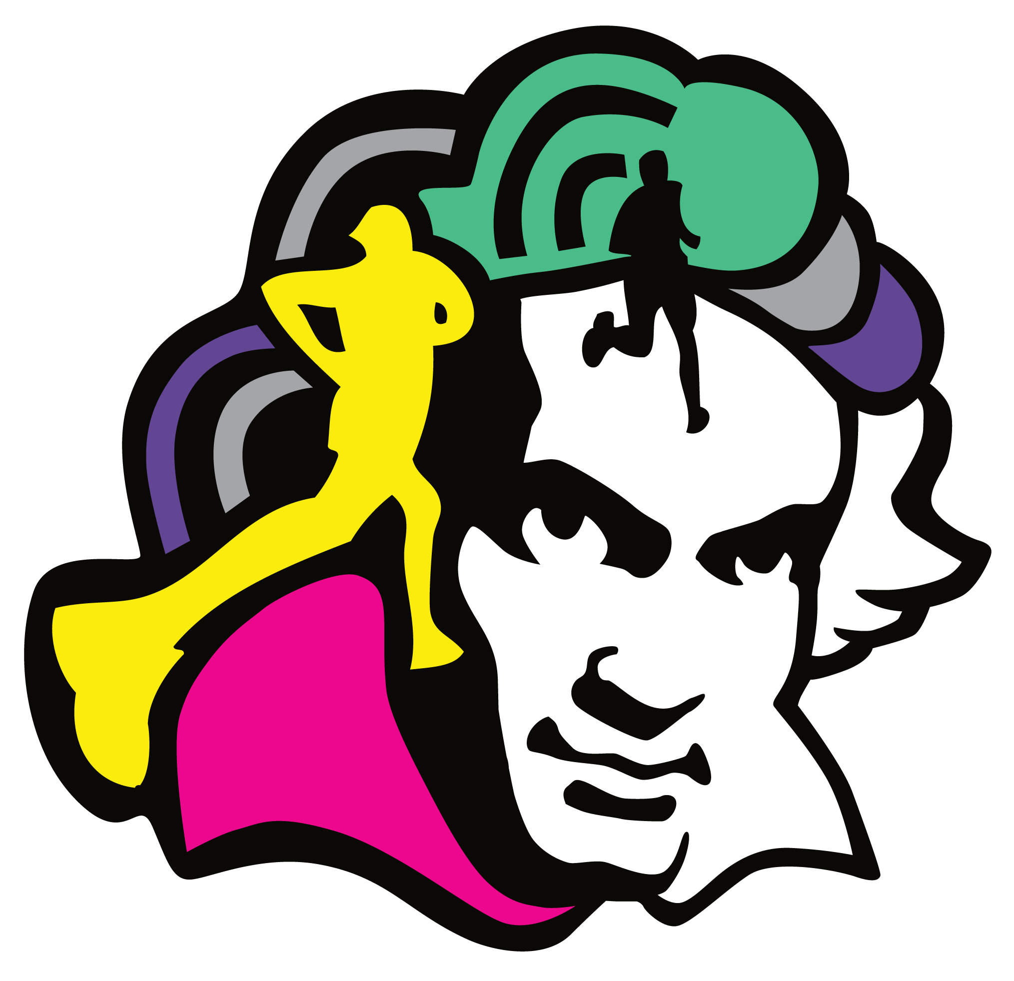 Beethoven drawing real. Erie runners clubbeat k