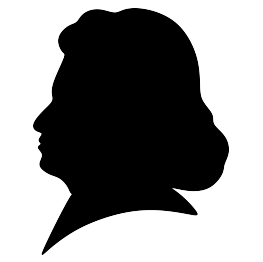 Beethoven drawing silhouette. Free svg school decorating