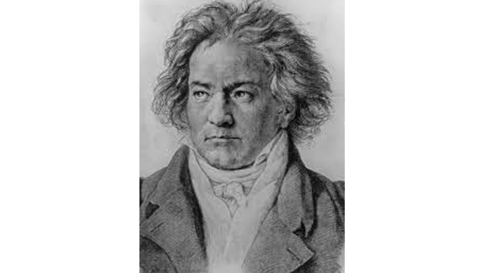 sometimes things work. Beethoven drawing abstract clip art royalty free stock