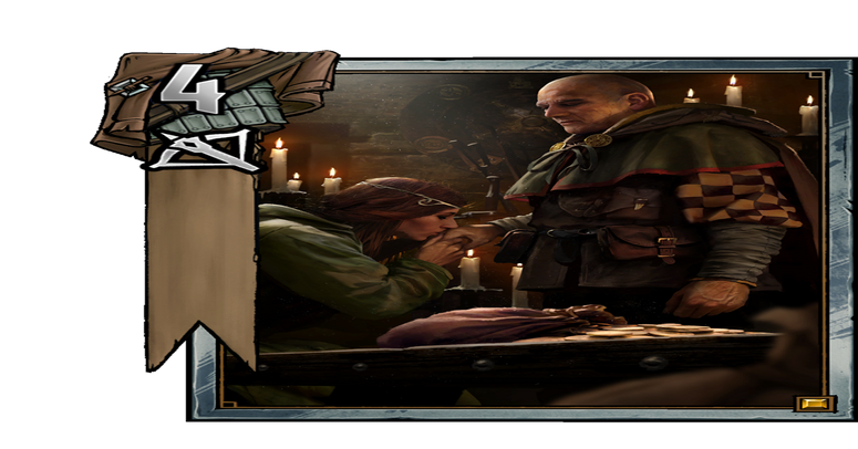 Beggar drawing begger. Daily card discussion king
