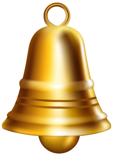 Golden png clip art. Bell clipart musical bell picture black and white download