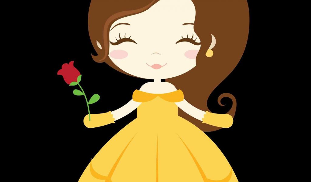 Bell clipart princess. Beauty and the beast