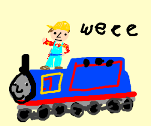 Bell clipart train. Thomas the drawing at