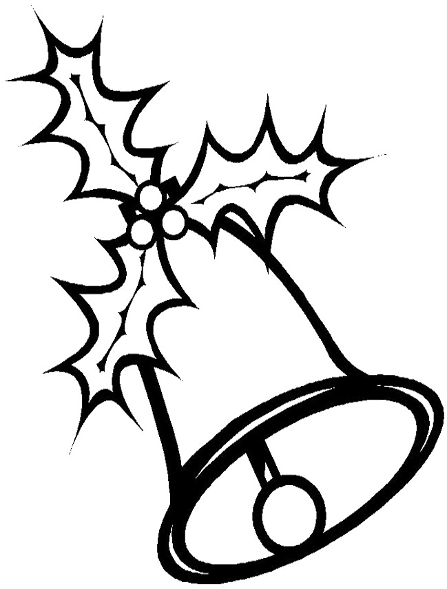 Bell clipart white christmas. Free picture of download