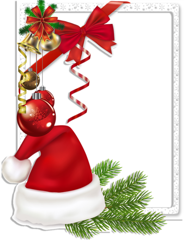 Bell frame png. Christmas transparent photo with