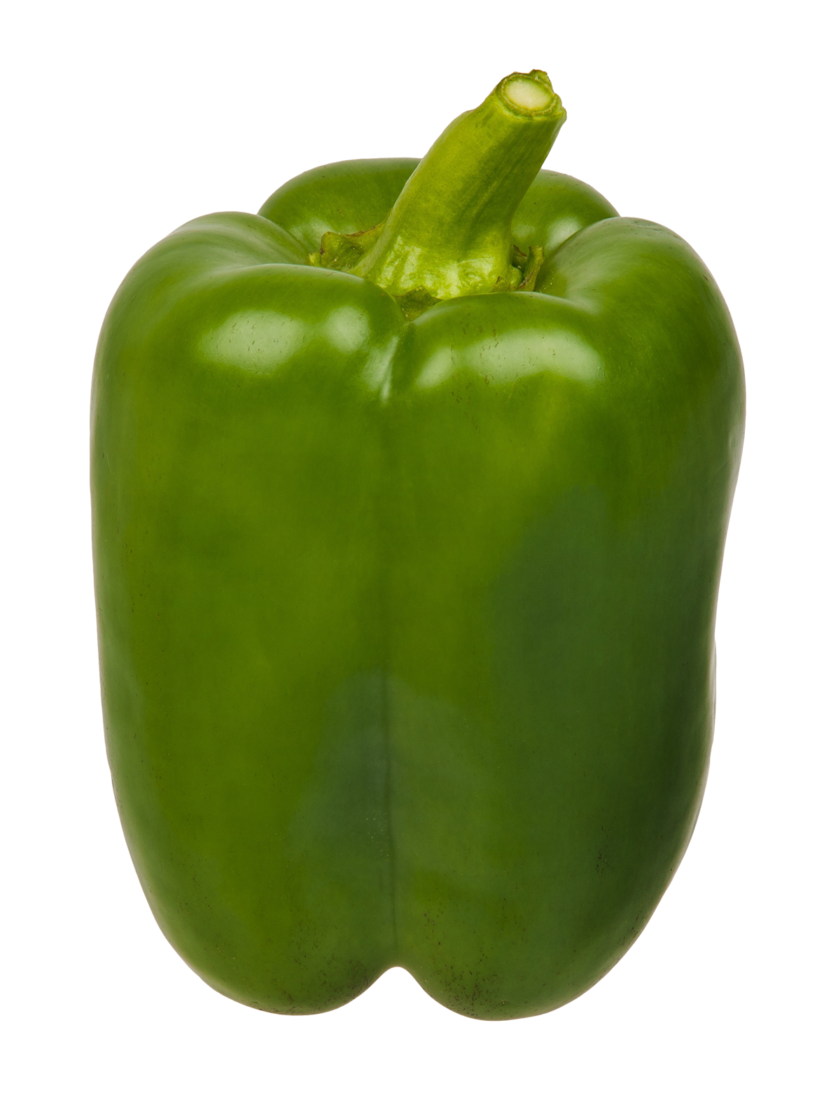 Pepper transparent sweet. Green bell png image
