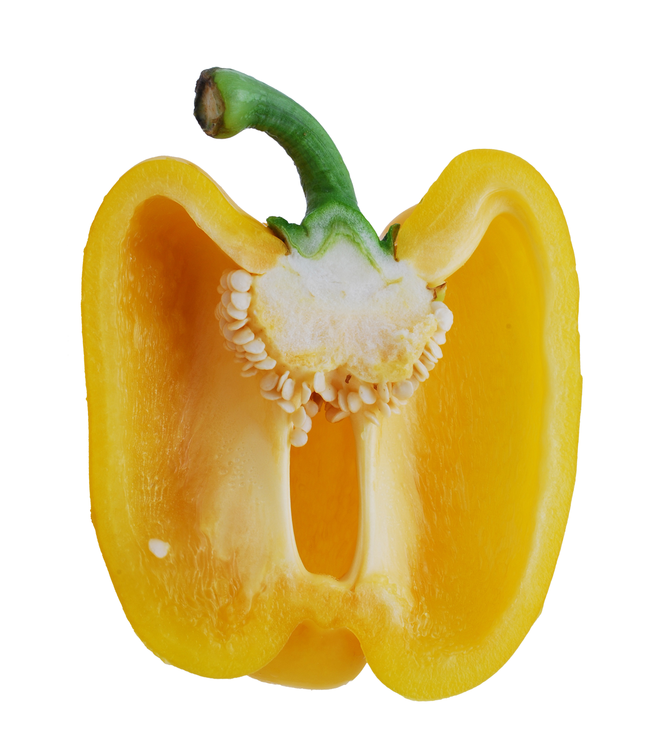 Pepper transparent sweet. Bell half png image