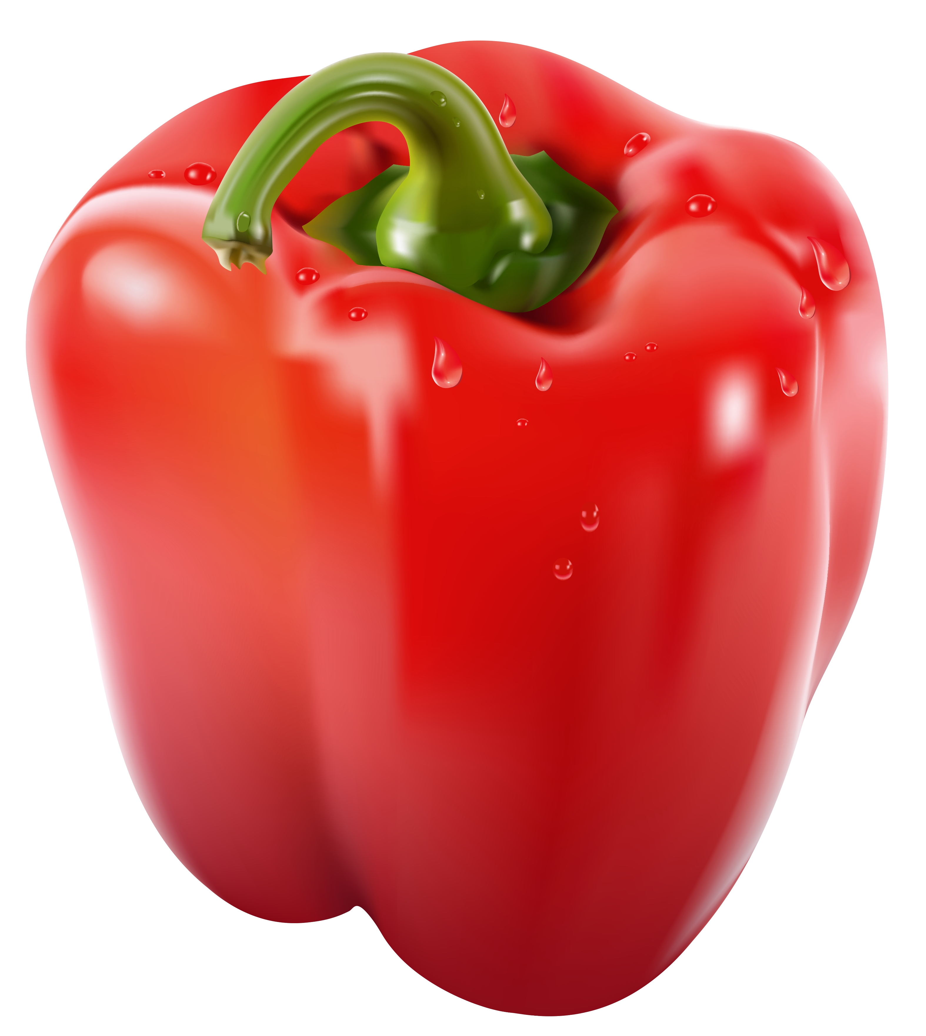 Bell peppers png. Transparent red pepper clipart