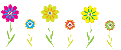 Flowers png clipart. Colorful file flower