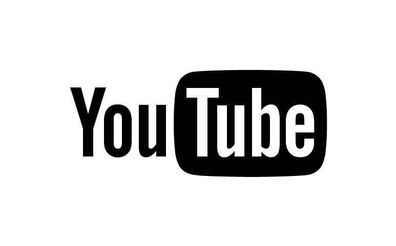 White youtube logo png. Images free download