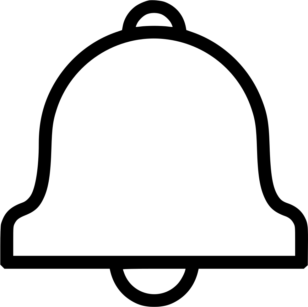 Bell svg file. Png icon free download