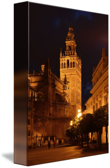 Bell tower at night png. Seville by marek stepan