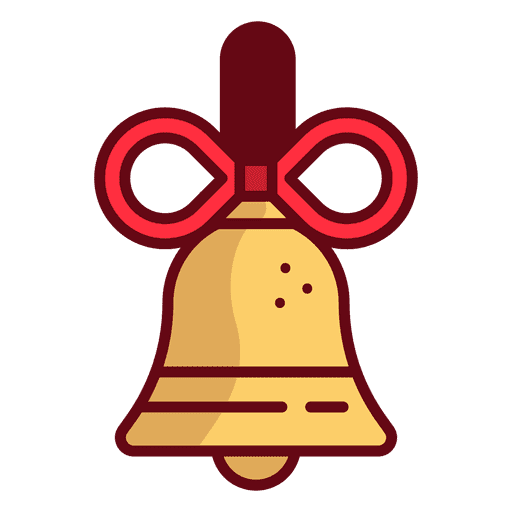 Bell vector png. Christmas transparent svg