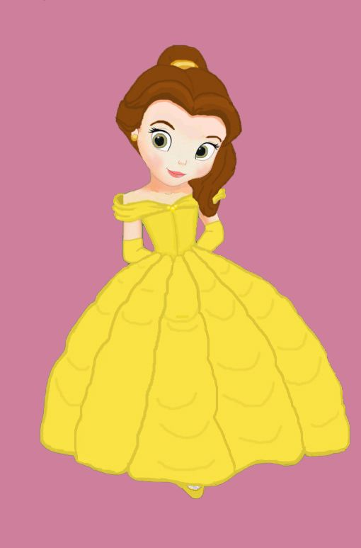 Belle clipart little. Best beauty and