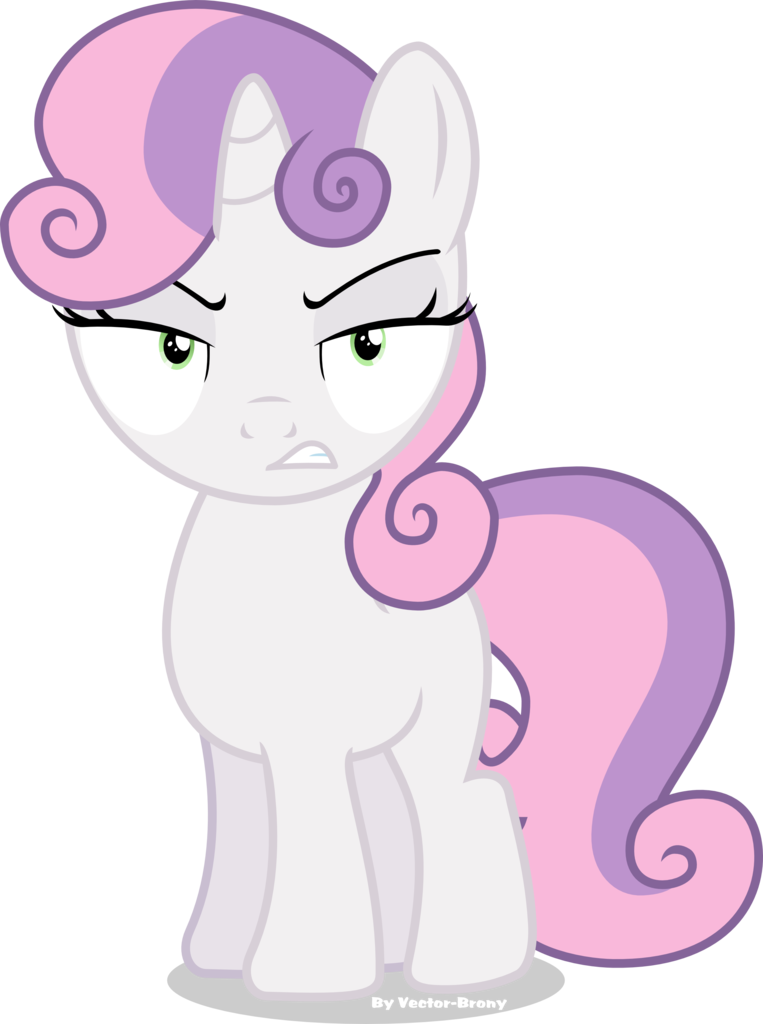 Belle vector. Angry artist brony