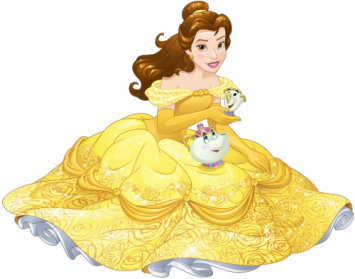 Beauty and the beast. Belle vector transparent clip art library download