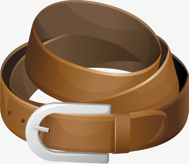Belt clipart brown belt. Simple png image and