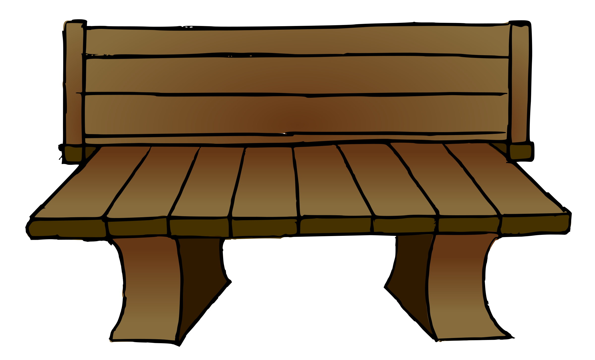 Clipart wooden big image. Vector chair animated svg