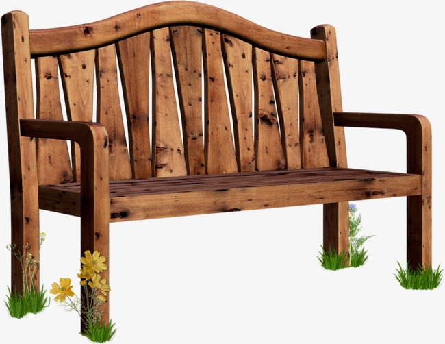 Bench clipart wooden bench. Benches seat chair png