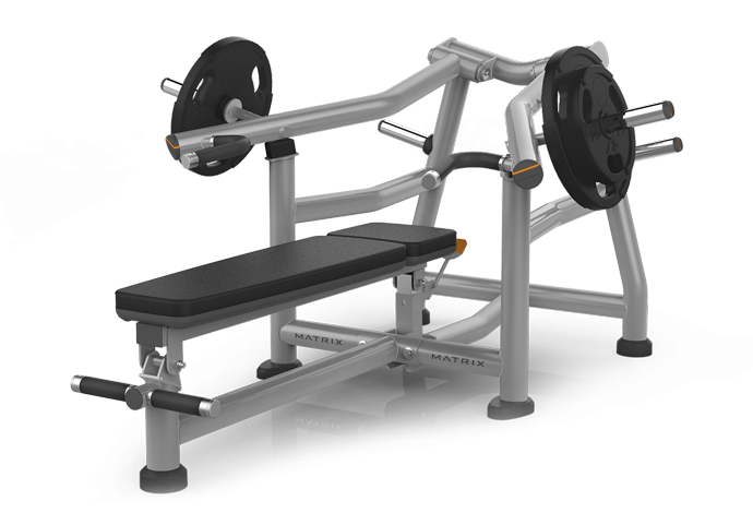 Bench press png. Plate loaded matrix fitness