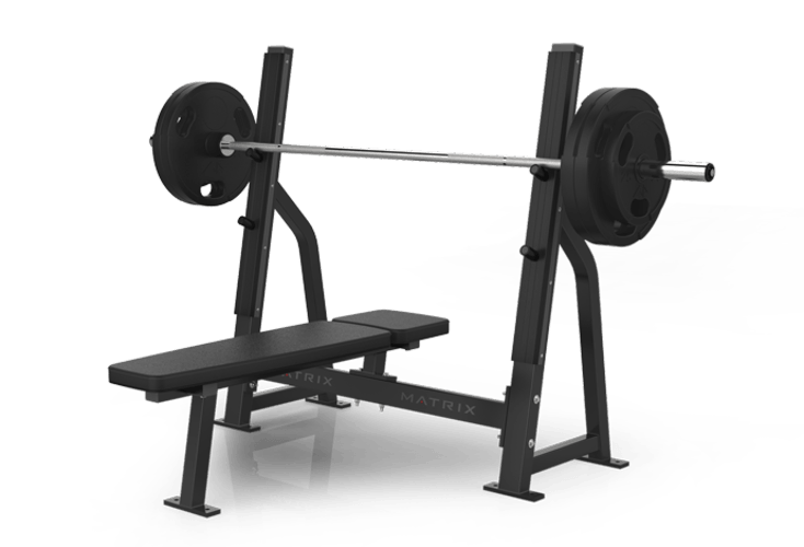 Bench press png. Olympic flat free weights